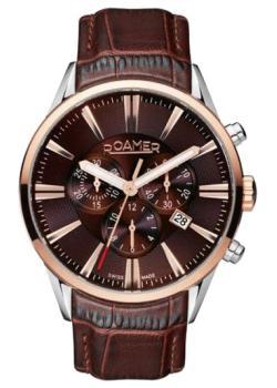 Швейцарские наручные  мужские часы Roamer 508.837.41.65.05. Коллекци Superior