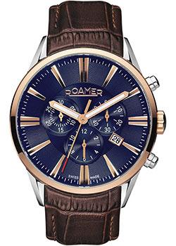 Швейцарские наручные мужские часы Roamer 508.837.41.85.05. Коллекция Superior фото
