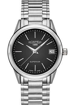 Швейцарские наручные  женские часы Roamer 508.856.41.55.50. Коллекция Superior