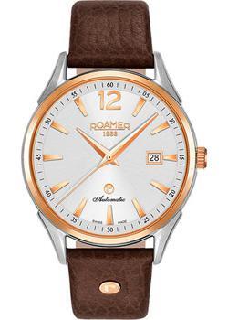 Швейцарские наручные  мужские часы Roamer 550.660.49.25.05. Коллекци Swiss Matic