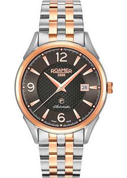 Швейцарские наручные  мужские часы Roamer 550.660.49.54.50. Коллекци Swiss Matic