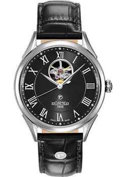 Швейцарские наручные  мужские часы Roamer 550.661.41.52.05. Коллекция Swiss Matic.