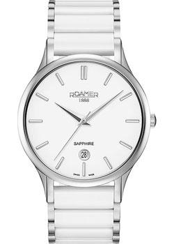 Швейцарские наручные  мужские часы Roamer 657.833.41.25.60. Коллекция Classic Line.