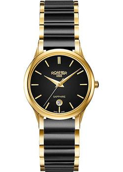 Швейцарские наручные  женские часы Roamer 657.844.48.55.60. Коллекция Classic Line