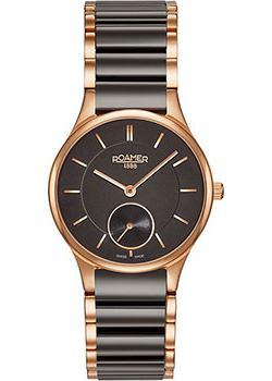 Швейцарские наручные  женские часы Roamer 677.855.49.55.60. Коллекция Ceraline