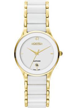 Швейцарские наручные  женские часы Roamer 677.981.48.25.60. Коллекция Ceraline