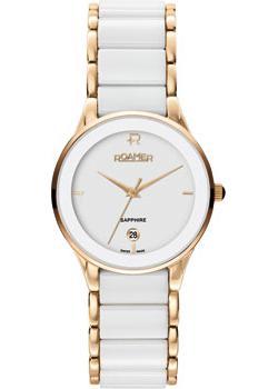 Швейцарские наручные  женские часы Roamer 677.981.49.25.60. Коллекция Ceraline