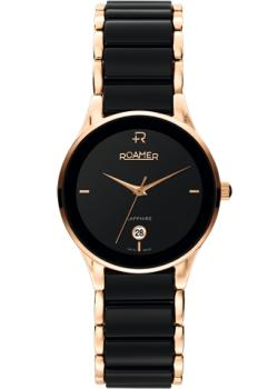 Швейцарские наручные  женские часы Roamer 677.981.49.55.60. Коллекция Ceraline