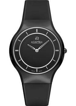 Швейцарские наручные  женские часы Roamer 684.830.41.55.06. Коллекция Ceraline