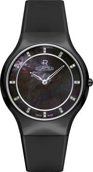 Швейцарские наручные  женские часы Roamer 684.830.41.59.06. Коллекция Ceraline