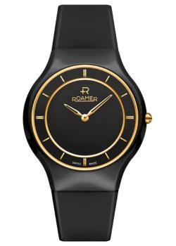 Швейцарские наручные  женские часы Roamer 684.830.48.55.06. Коллекция Ceraline