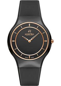 Швейцарские наручные  женские часы Roamer 684.830.49.55.06. Коллекция Ceraline