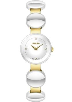 Швейцарские наручные  женские часы Roamer 686.836.48.29.60. Коллекция Ceraline.