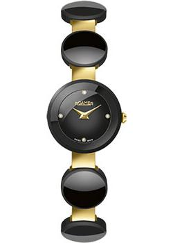 Швейцарские наручные  женские часы Roamer 686.836.48.59.60. Коллекци Ceraline