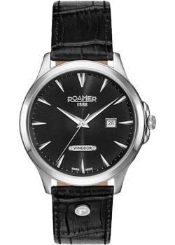 Швейцарские наручные мужские часы Roamer 705.856.41.55.07. Коллекция Windsor