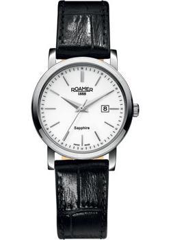 Швейцарские наручные  женские часы Roamer 709.844.41.25.07. Коллекция Classic Line