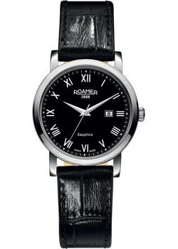 Швейцарские наручные  женские часы Roamer 709.844.41.52.07. Коллекция Classic Line