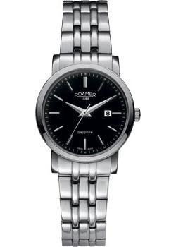 Швейцарские наручные  женские часы Roamer 709.844.41.55.70. Коллекция Classic Line