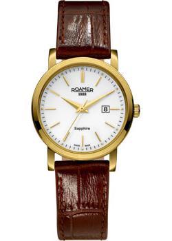 Швейцарские наручные  женские часы Roamer 709.844.48.25.07. Коллекция Classic Line