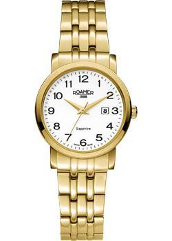 Швейцарские наручные  женские часы Roamer 709.844.48.26.70. Коллекция Classic Line