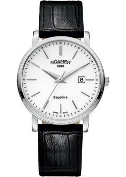 Швейцарские наручные  мужские часы Roamer 709.856.41.25.07. Коллекция Classic Line.