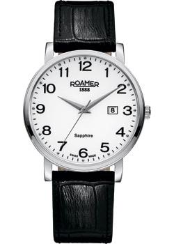 Швейцарские наручные  мужские часы Roamer 709.856.41.26.07. Коллекци Classic Line