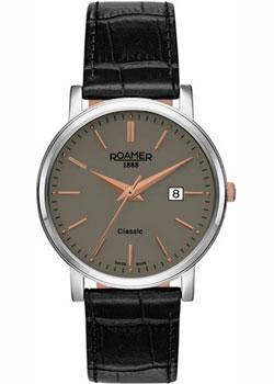 Швейцарские наручные мужские часы Roamer 709.856.41.65.07. Коллекция Classic Line фото