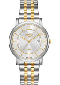 Швейцарские наручные  мужские часы Roamer 709.856.47.17.70. Коллекци Classic Line