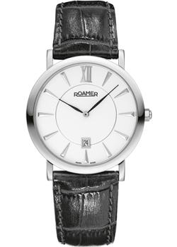 Швейцарские наручные  мужские часы Roamer 934.856.41.25.09. Коллекция Classic Line.