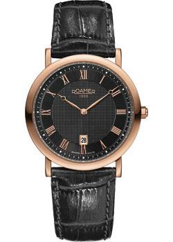 Швейцарские наручные  мужские часы Roamer 934.856.49.51.09. Коллекция Classic Line.