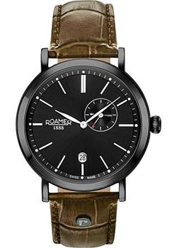 Швейцарские наручные мужские часы Roamer 936.950.40.55.09. Коллекция Vanguard