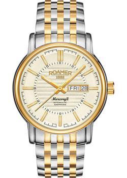 Швейцарские наручные  мужские часы Roamer 963.637.47.35.90. Коллекци Mercury