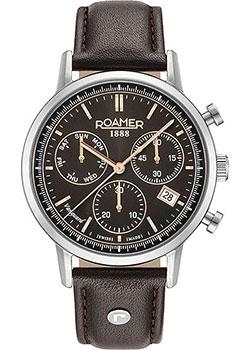 Швейцарские наручные  мужские часы Roamer 975.819.40.55.09. Коллекция Vanguard.