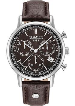 Швейцарские наручные мужские часы Roamer 975.819.41.55.09. Коллекция Vanguard фото