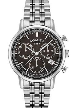 Швейцарские наручные  мужские часы Roamer 975.819.41.55.90. Коллекция Vanguard.