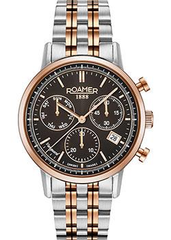 Швейцарские наручные мужские часы Roamer 975.819.49.55.90. Коллекция Vanguard фото