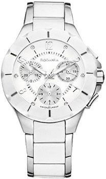 Швейцарские наручные  женские часы Rodania 24900.40. Коллекция Ceramica