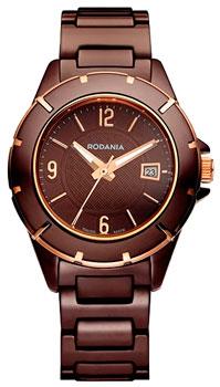 Швейцарские наручные  женские часы Rodania 25085.45. Коллекция Geneve