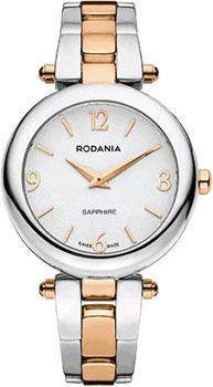 Швейцарские наручные  женские часы Rodania 25125.43. Коллекция Modena