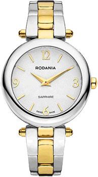 Швейцарские наручные  женские часы Rodania 25125.81. Коллекция Modena