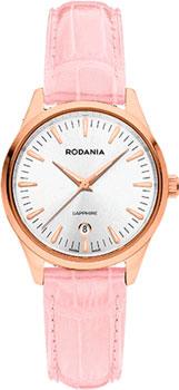 Швейцарские наручные  женские часы Rodania 25142.34. Коллекция Ladies Quartz