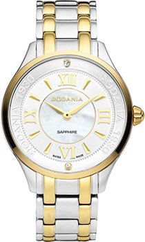 Швейцарские наручные  женские часы Rodania 25152.82. Коллекция Star