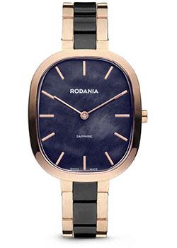 Швейцарские наручные  женские часы Rodania 25157.44. Коллекция Firenze
