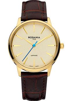 Швейцарские наручные  женские часы Rodania 25162.33. Коллекция Montreaux