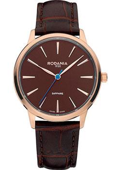 Швейцарские наручные  женские часы Rodania 25162.35. Коллекция Montreaux