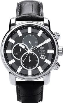 fashion наручные  мужские часы Royal London 41235-02. Коллекция Chronograph