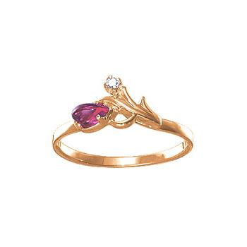 Золотое кольцо 03671RS фото