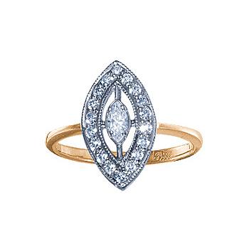 Золотое кольцо 08588RS фото