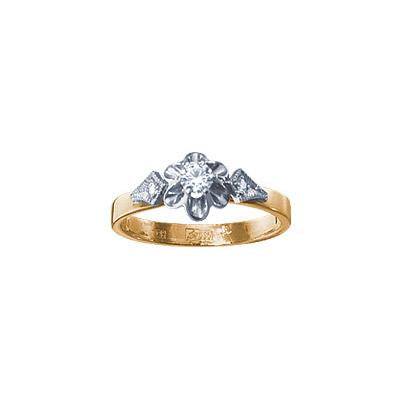 Золотое кольцо 15514RS фото