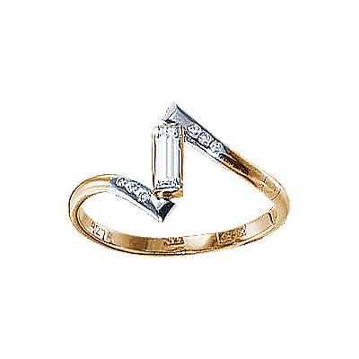 Золотое кольцо  17354RS